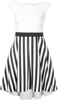 GUILD PRIME contrast striped panel dress