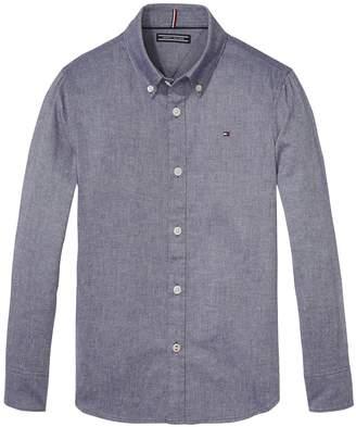Tommy Hilfiger TH Kids Stretch Oxford Shirt