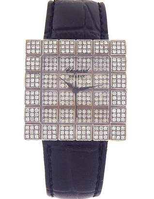 Chopard Ice Cube Blue White gold Watches