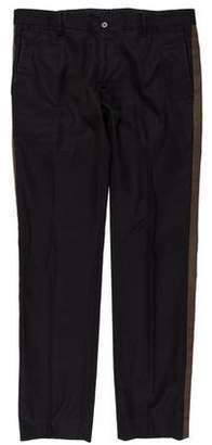 Dolce & Gabbana Flat Front Dress Pants