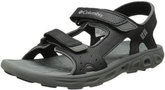 Columbia Youth Techsun Vent Sandal (Little Kid/Big Kid), Black Grey