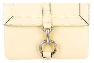 Marc Jacobs Leather Flap Clutch