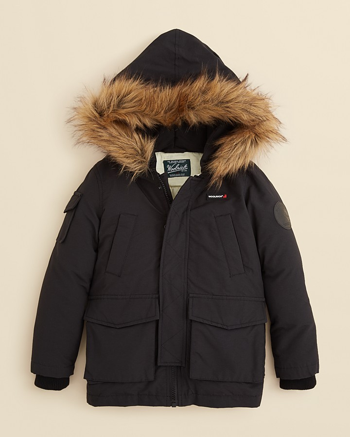 Woolrich Toddler Boys' Wool Parka - Sizes 2T-4T