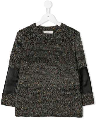 Stella McCartney elbow patch jumper