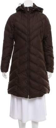 Patagonia Down Knee-Length Coat