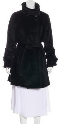 Gerard Darel Alpaca & Wool Blend Coat