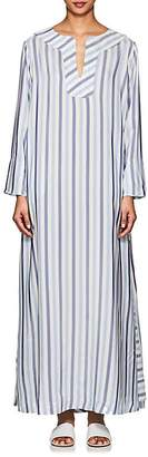 Thierry Colson Women's Samia Striped Silk Caftan