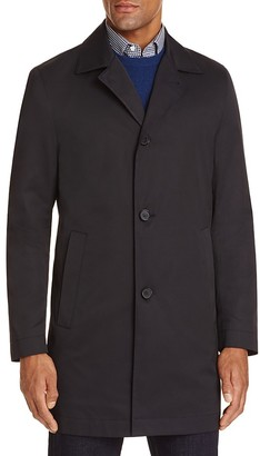 BOSS HUGO BOSS Solid Raincoat $495 thestylecure.com