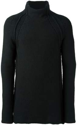 Forme D'expression chunky roll neck jumper