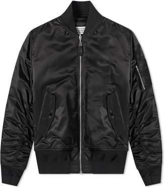 Maison Margiela Classic Nylon Bomber Jacket