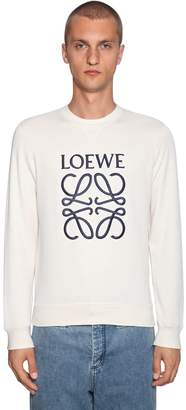Loewe Anagram Embroidered Sweatshirt