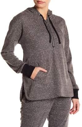 Marika Wren Quarter-Zip Pullover Hoodie