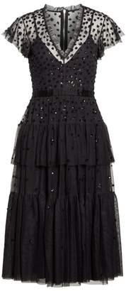 Needle & Thread Mirage Sequin Dress