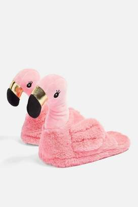 Topshop Flamingo Slippers