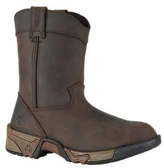 """Rocky FQ0003638 Kid'sS 6"""" WORK BRWN Medium 10 Work Boots"""