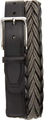 Torino Belts Torino Braided Cotton & Leather Belt