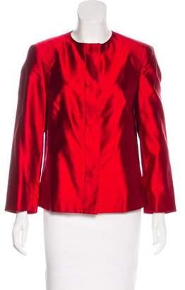 Michael Kors Silk Structured Jacket
