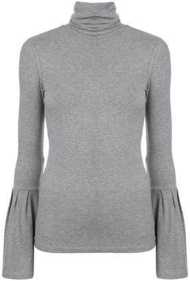 Paige Kenzie turtleneck blouse