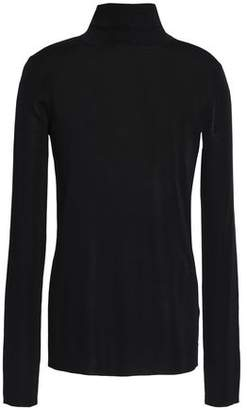 Tibi Stretch-knit Turtleneck Top