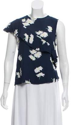 Ganni Floral Print Top w/ Tags