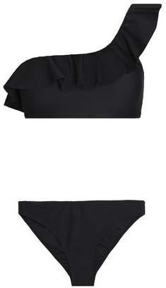 One-Shoulder Ruffle-Trimmed Bikini