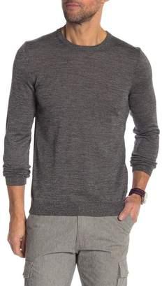 BOSS Leno Wool Crew Neck Slim Fit Sweater