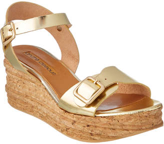 Andre Assous Belle Leather Wedge Sandal