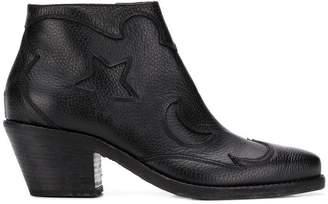 McQ Solstice zip-up boots