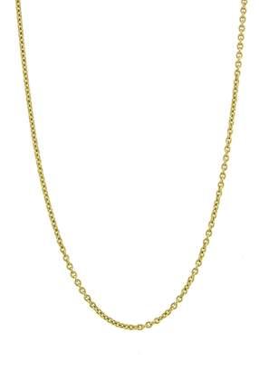 Dru Medium Rolo Chain Necklace - Yellow Gold