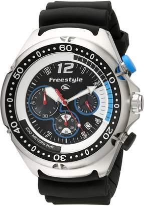 Freestyle Men's FS81324 Hammerhead XL Custom Round Dive Chronograph Watch
