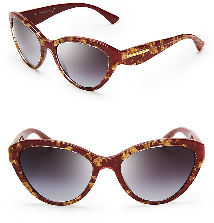 Dolce & Gabbana DNA Cat Eye Sunglasses