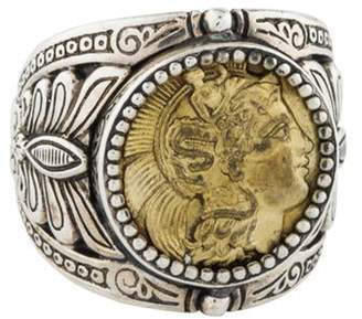 Konstantino Kerma Coin Cocktail Ring silver Kerma Coin Cocktail Ring