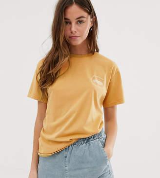 Quiksilver Standard short sleeved t-shirt in yellow