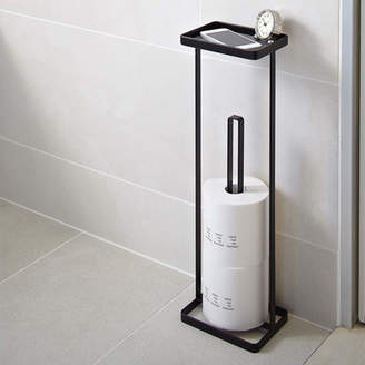 Rebrilliant Espinal Freestanding Toilet Paper Stand with Tray
