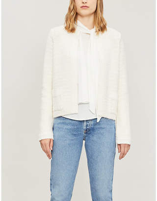 Sandro Patch pocket knitted cardigan