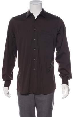 Prada French Cuff Button-Up Shirt