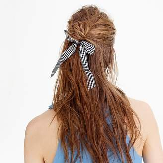J.Crew Taffeta ribbon hair tie
