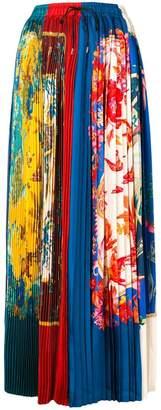 Salvatore Ferragamo long Sumatra skirt