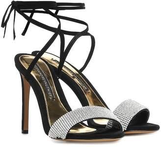 Alexandre Vauthier Kim crystal-embellished sandals