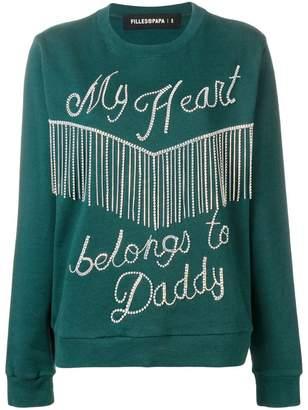 Filles a papa gemstones sweatshirt