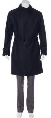 MACKINTOSH Wool Long Coat w/ Tags