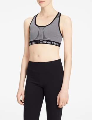 Calvin Klein reversible logo sports bra