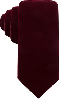 Ryan Seacrest Distinction Men Velvet Solid Tie