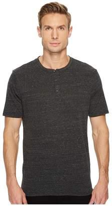 Threads 4 Thought Baseline Short Sleeve Tri-Blend Henley Men's Short Sleeve Pullover