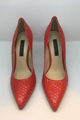 Andrew Kayla Red Pump