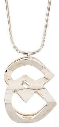 DSQUARED2 Double D Pendant Necklace