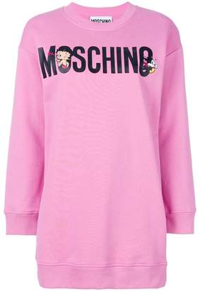 Moschino Betty Boop sweatshirt dress
