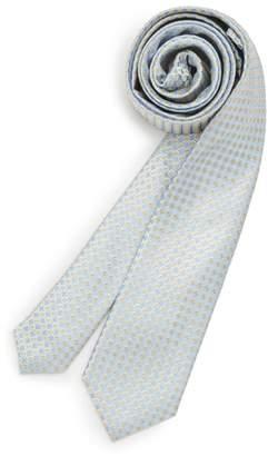 Michael Kors Circle Square Silk Tie
