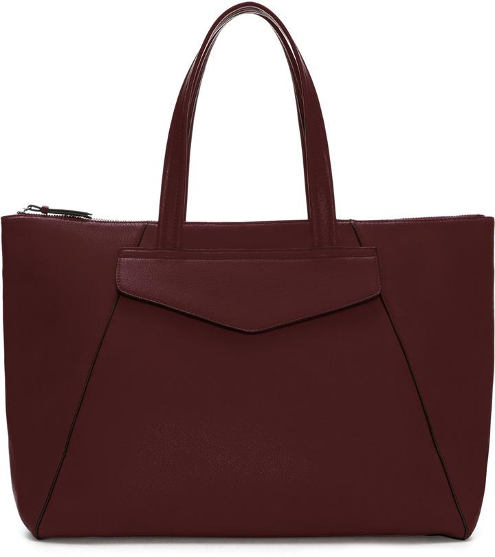 Zara Shopper With Pocket