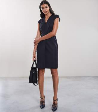 Reiss FENTON DRESS TAILORED DRESS Navy